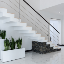 Designer Stairs: Select A Design For A Beautiful Staircase That Is Free Of splits